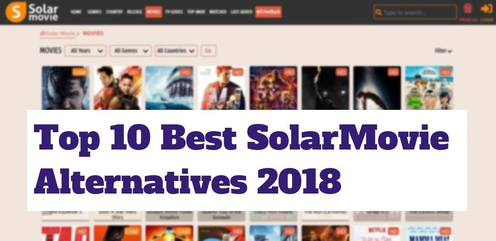 Similar Sites Of Solarmovie Alternatives