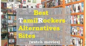 What are the similar sites of TamilRockers?