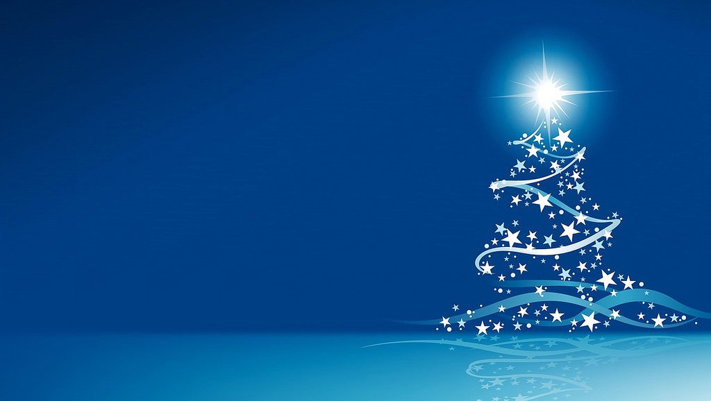 Christmas Wallpapers Blue Xmas Backgrounds