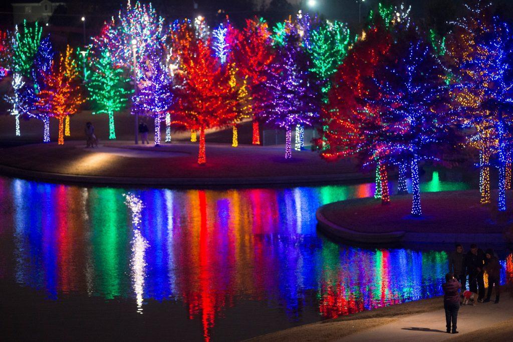 Christmas Lights Christmas Evening
