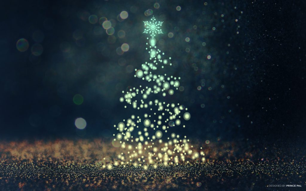 Creative Light Christmas Wallpapers And Christmas Backgrounds