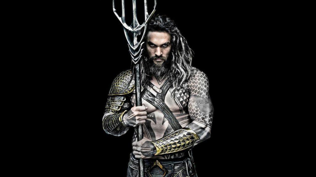 Jason Momoa Aquaman Black And White Movie Wallpaper Poster 2018 Min