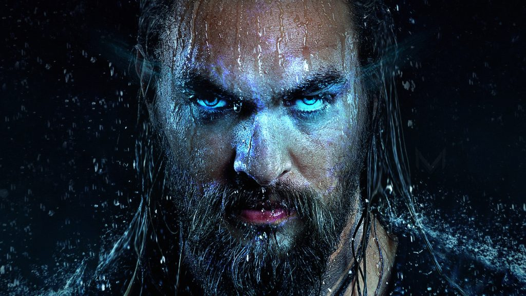 Jason Momoa Aquaman Face Close Up Min