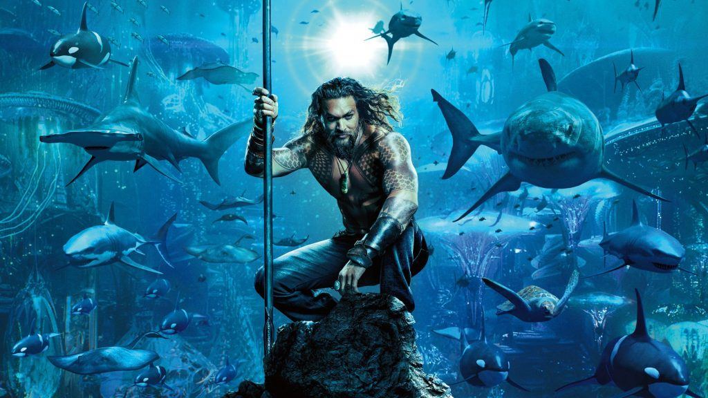 Jason Momoa Aquaman Movie Poster 2018 Min