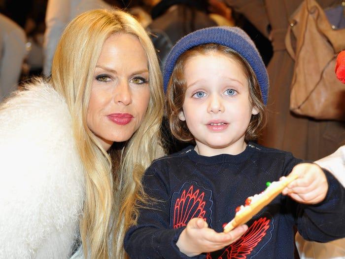 Rachel Zoe and son
