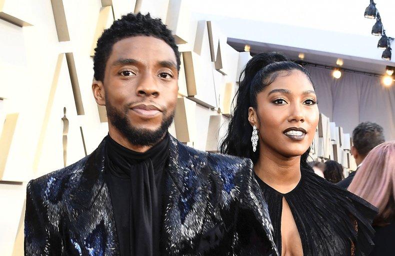 Chadwick Boseman secretly married Taylor Simone Leward