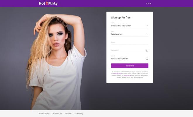 Flirty Dating Site