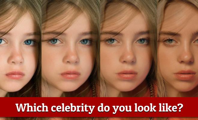 what celebrity do I look like