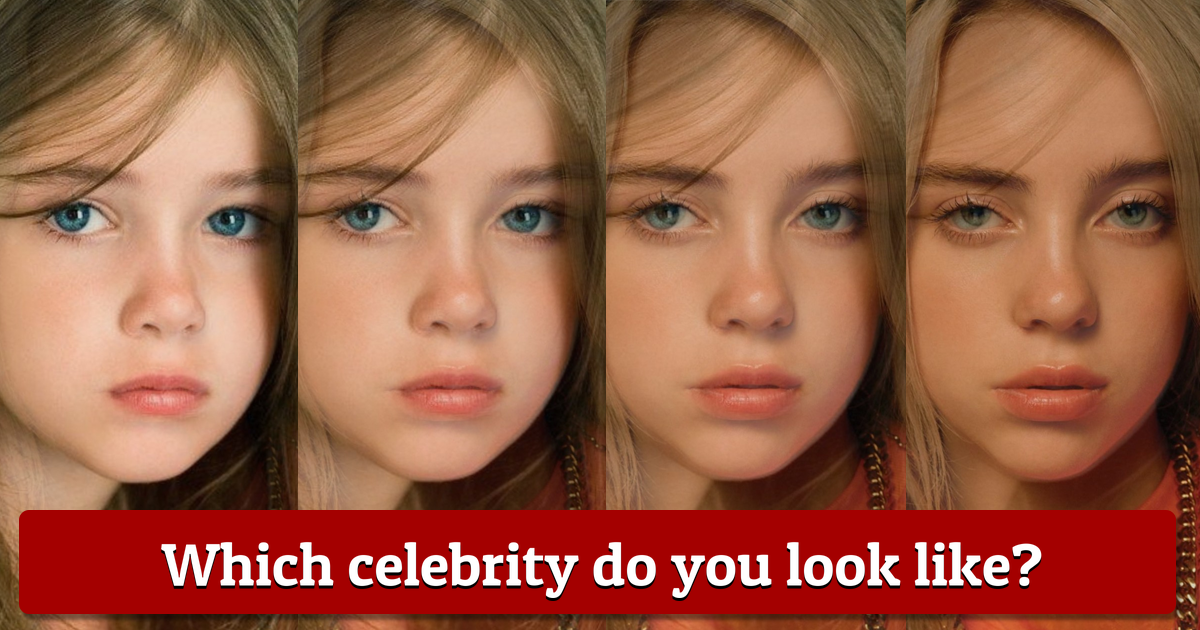 What Celebrity Do I Look Like In This 2021? - CelebrityNews