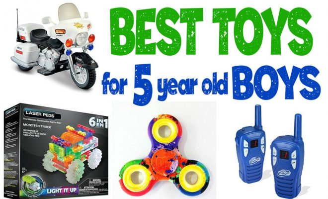 best gift for 5 year old boy